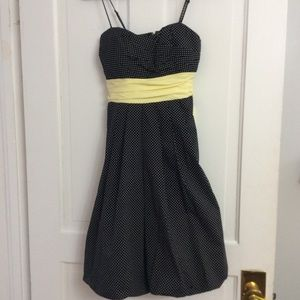 Spaghetti Strap Polkadot Summer Dress